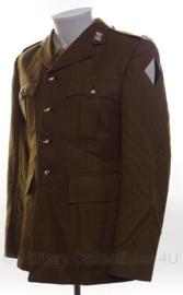 Britse leger uniform jas bruin/groen met insignes Light Dragoons - meerdere maten - origineel