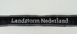 SS officiers cufftitle landstorm Nederland