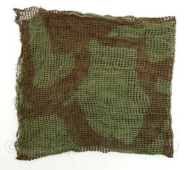 Wo2 Britse Face Veil  Individual Couflage net - 70 x 65 cm - origineel