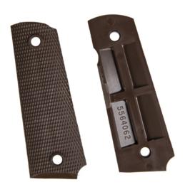 Colt M1911 handgrepen - Bruin Nylon