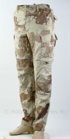 US Army 1e golfoorlog jaren 90 - desert camo broek -maat Small-long - origineel
