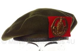 KL Nederlandse leger Infanterie baret - oud model - maat 59 - origineel