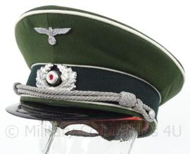 WO2 Duitse Heer Infanterie schirmmutze - klep is gebroken - maat 59 - replica