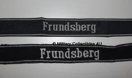 SS cufftitle Frundsberg - 10e SS Panzer Divisie - BEVO of Officier