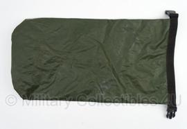 KL Nederlandse leger waterdichte Rugzak Binnenzak maat S (80 liter rugzak) 60x30 cm - (voor Low Alping Sting) GROEN - origineel