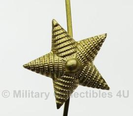 Russische rang ster goud - metaal - 22mm breed - origineel