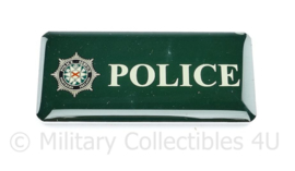 Police Service Northern Ireland borst badge POLICE - 7,5 x 3,5 cm - origineel