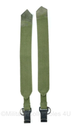 US Army rugzak draagriemen draagstel groen - 47 x 5 x 0,3 cm - origineel