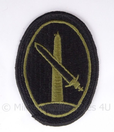 US Army vietnam oorlog patch - Military District of Washington - subdued - 5 x 8 cm - origineel