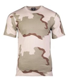 Desert camo T shirt Desert shirt - nieuw gemaakt