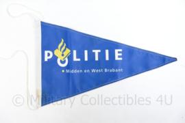 Politie Midden en West Brabant vlag - 40 x 66,5 cm - origineel