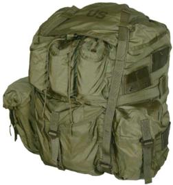 US rugzak Alice Field Pack LC-1 LARGE  GROEN Alice Pack - met frame - 62 liter inhoud - origineel US Army