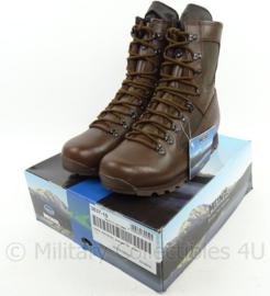 Korps Mariniers Meindl JUNGLE MASAI schoenen Jungle hoog model Bruin leder Meindl Laars gevecht jungle bruin  - ongebruikt met doos - origineel KL - maat 285M = 44,5 M