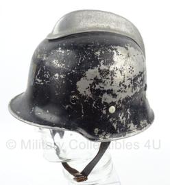 Naoorlogse Duitse brandweerhelm - maat 4 - origineel