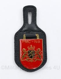 Defensie DT2000 DT Borsthanger PMC NB Provinciaal Militair Commissariaat. Noord Brabant  - 9,5 x 4,5 cm - origineel