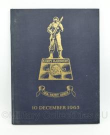 Herinneringsboek Korps Mariniers Qua Patet Orbis 10 december 1965 - origineel