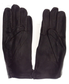 ABL Leger handschoenen donkerbruin leder - NIEUW IN VERPAKKING - maat 9 - origineel