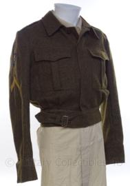 """MVO uniform jasje """"Korporaal"""" - """"Militaire Colonne"""" - jaren 50 - maat 48 1/4 - origineel"""