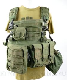 Defensie en Korps Mariniers Profile Equipment plate carrier met tassen en 1 kogelwerende plaat voorzijde -  NIJ IIIA - verstelbaar - origineel