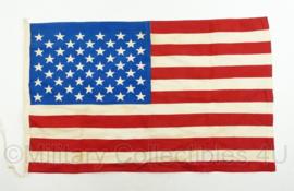 US vlag - 50 sterren - jaren 50 en 60 model - 70 x 45 cm - origineel