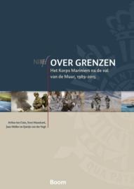Boek 'Over grenzen het Korps Mariniers na de val van de Muur, 1989-2015' - met gratis E-book - nieuw in verpakking - origineel