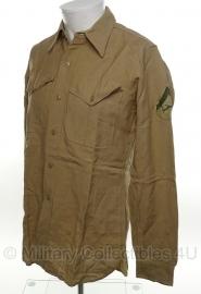 USMC Khaki Shirt - Lance Corporal - meerdere maten - origineel