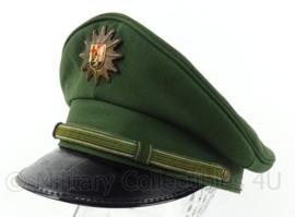 Duitse Bundespolizei Stuttgart schirmmutze - maat 58 - origineel