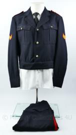 Korps Mariniers Barathea jas met broek 1967  - maat 49 - rang Korporaal - origineel