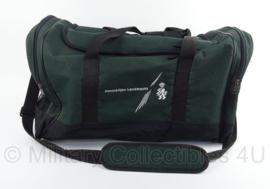 Koninklijke Landmacht grote Sporttas met schouderriem - groen - 56 x 30 x 30 cm - origineel