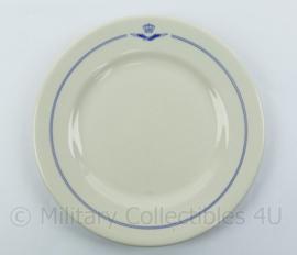 Koninklijke Luchtmacht KLU Porcelijnen bord  - 23 cm. diameter - origneel !