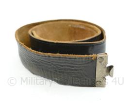 Wo2 Duitse koppel echt leder - net naoorlogs - 82x4,5 cm - origineel