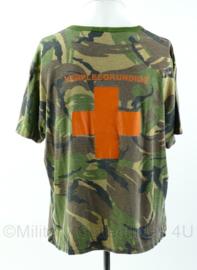 KL woodland shirt verpleegkundige - Maat 6575/9505 - gedragen - Origineel