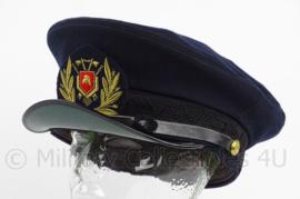 KM Koninklijke Marine brandweer Officiers pet - maat 59 - origineel
