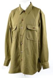 US Army M1937 Field shirt replica Wo2 - maat 48 - nieuw