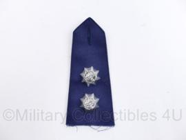 Korps Rijkspolitie epaulet Hoge rang  - Rang Officier 2e klasse - 1 enkele epaulet - origineel