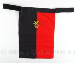 KL Nederlandse leger halsdoek 105ste Luchtdoelartillerie - 23 x 33 cm - origineel