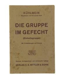 WO2 Duits handboek die gruppe im gefecht - 1934 - origineel
