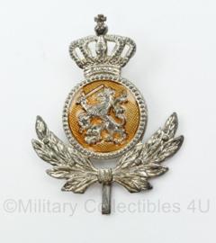 KMAR Koninklijke Marechaussee onderofficier pet embleem - vorig model DT - 5 x 4 cm - origineel
