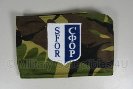 KL woodland armband SFOR - origineel