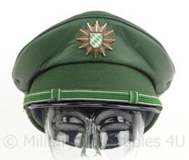 Duitse Bundespolizei pet - Bayern - maat 56 - maker: Albert Kempf - origineel