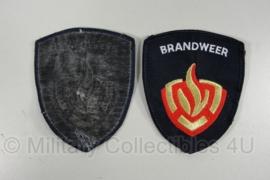 1 Leger Brandweer arm insigne - origineel
