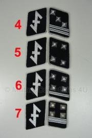 SS kraagspiegels - vrijwilligers - SS Niederlande (grote wolfsangel) - officier