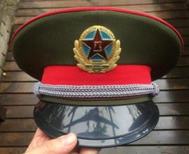 Chinese leger landmacht platte pet - maat 58,5 - nieuw gemaakt