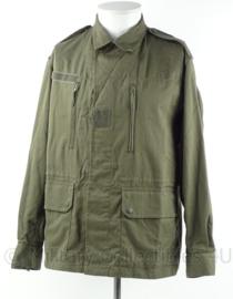 Franse leger F2 uniform jas - groen - 1983 - maat 104 cm. borstomtrek - origineel