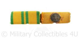 Nederlandse baton Vierdaagse medaille en Onderscheiding voor langdurige trouwe dienst brons -  6 x 1,5 cm - origineel