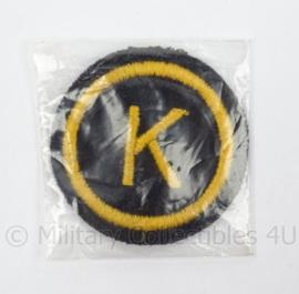 KM Marine arm embleem DVO Korporaal Kok - nieuw in verpakking - doorsnede 5,5 cm - origineel