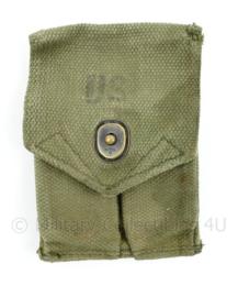 US Army Vietnam oorlog M56 Colt M1910 double magazin pouch 1967  - 13 x 9 cm - origineel