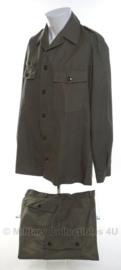 KLU Luchtmacht uniform grijs 1985 - maat 47-49/50 - origineel