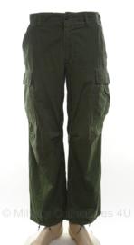 US Army Vietnam oorlog broek 1968 groen - size Small-Regular - origineel