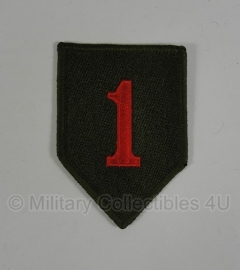 WWII US 1st Infantry Division patch - eigen aanmaak